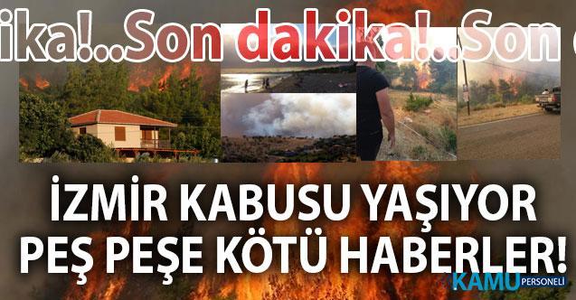 İzmir'de son dakika yangın haberleri! Urla ve Karabağlar'daki yangında son durum