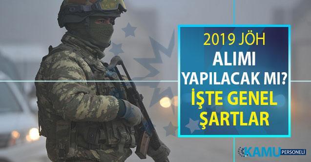 Jandarma Uzman Erbaş Alımı Ne Zaman? 2019 JÖH Alımı Detayları ve Genel Şartları