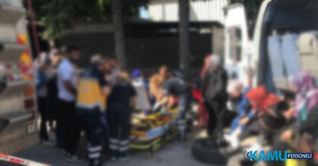Manisa'nın Şehzadeler İlçesinde Can Pazarı! İşçileri Taşıyan Minibüs İle Hafif Ticari Araç Çarpıştı 16 Yaralı Var