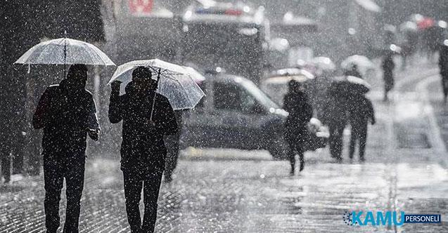 Meteoroloji'den Orta ve Doğu Karadeniz ile Ankara, Sivas, Erzincan, Erzurum, Ardahan ve Kars İçin Sağanak Yağış Uyarısı!