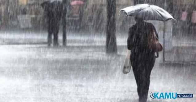 Meteoroloji'den Sağanak Yağış Hakkında Yeni Uyarı