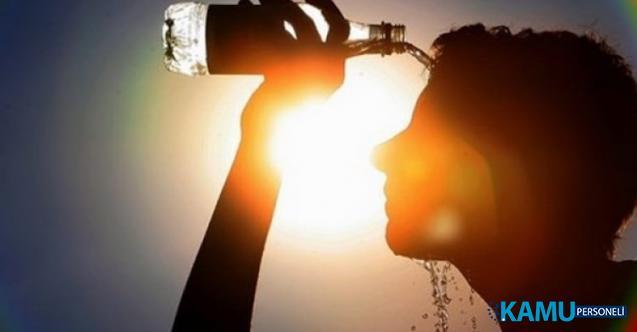 Meteoroloji'den Sıcak Hava Uyarısı ! Hava Sıcaklıkları Mevsim Normallerinin 10 Derece Üzerinde Olacak