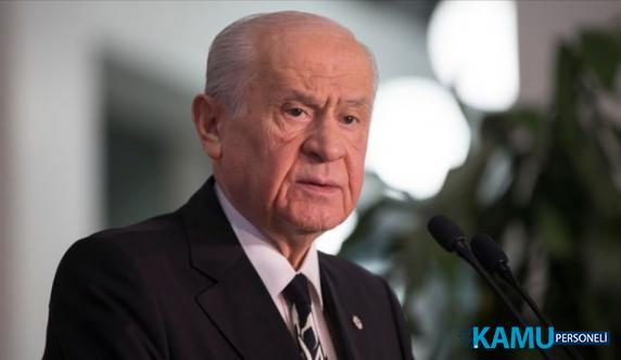 MHP Lideri Bahçeli'den Güvenli Bölge Açıklaması: Kontrol Bizde Olmalı