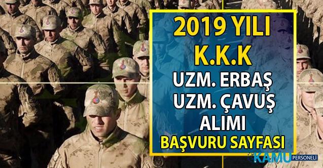 MSB Kara Kuvvetleri Komutanlığına (KKK) 2019 yılı uzman erbaş ve uzman çavuş alımı başvuru şartları