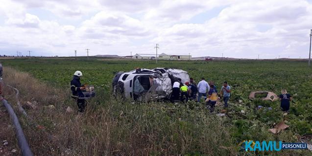 Nevşehir Acıgöl'deki Kazada Ölü Sayısı Arttı