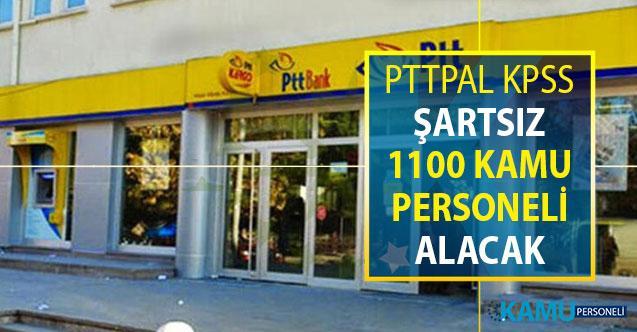 PTTPAL 1100 Kamu Personeli Alımı Yapacak ! Binlerce Aday İlanın Yayımlanmasını Bekliyor