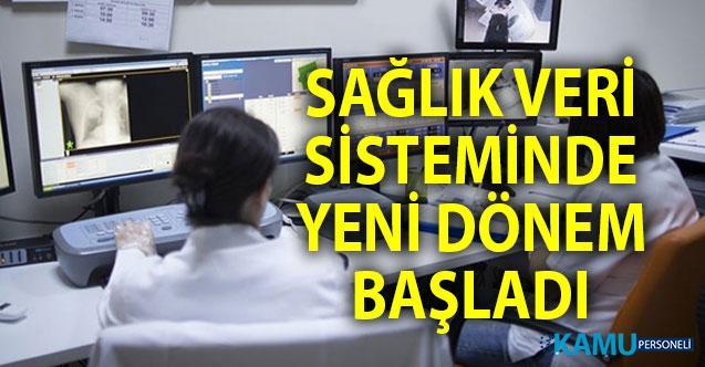Sağlık veri sisteminde yeni dönem! SİNA sistemi uygulamaya girdi.