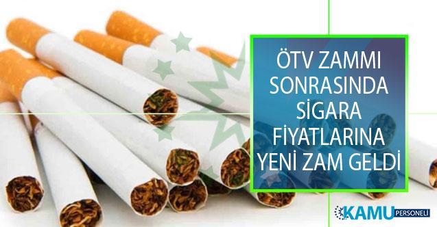 Sigara Fiyatlarına Yeni Zam Yapıldı! 21 Ağustos Sigara Zammı Sonrası Güncel Fiyatlar!