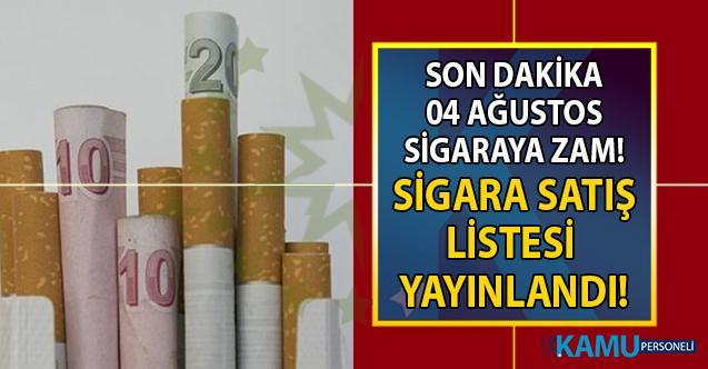 Sigara zammı cep yakacak! Sigara fiyatlarına yapılan zam tepkilere yol açtı! En ucuz ve en yüksek sigara fiyatları ne kadar?