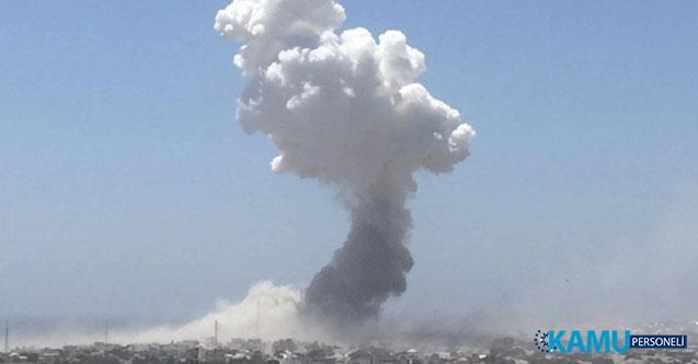 Somali'nin Başkenti Mogadişu Yakınlarında Bir Askeri Üsse Bombalı Saldırı! En Az 15 Ölü