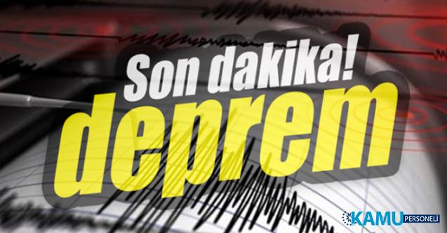Son dakika Ankara'da deprem oldu! Depremin şiddeti ve merkez üssü...