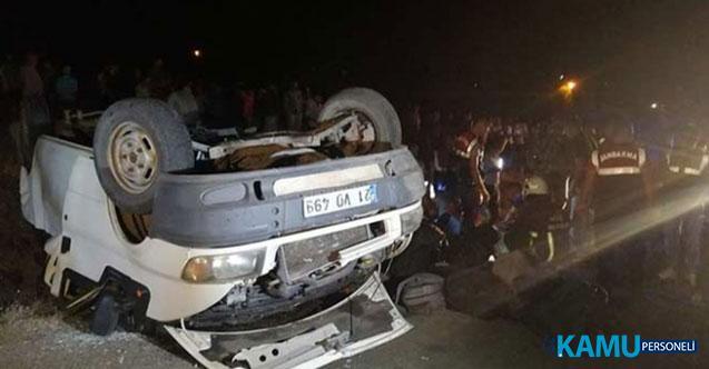 Van'ın Muradiye İlçesinde Düzensiz Göçmenleri Taşıyan Minibüs Devrildi: 43 Yaralı!