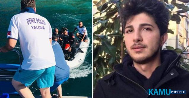 Yalova, Armutlu'da 6 Gün Önce Akıntıya Kapılarak Kaybolan 17 Yaşındaki Enes Çelenk'in Cansız Bedeni Bulundu