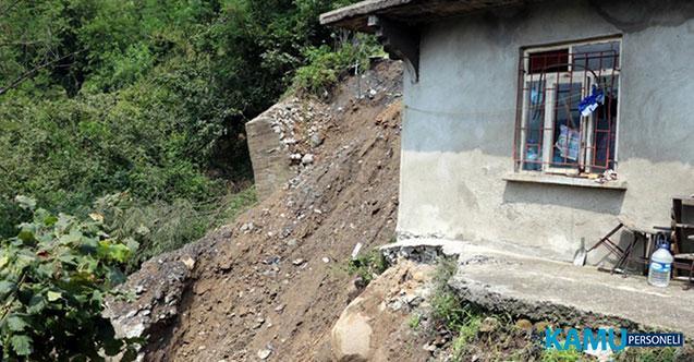 Zonguldak'ın Kozlu İlçesinde Heyelan! 6 Ev Çöktü, 20 Kişi Evsiz Kaldı!