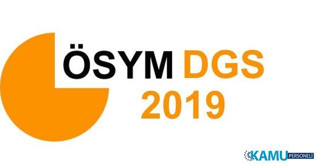 2019 DGS Yerleştirme Sonuçları Açıklandı