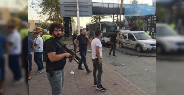 Adana'da Çevik Kuvvet Servis Aracına Bombalı Saldırı ! Çok Sayıda Yaralı Var