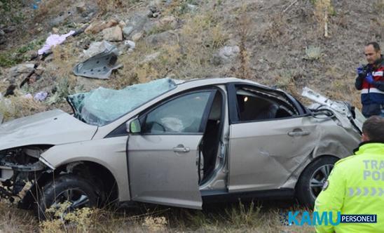 Afyonkarahisar'da trafik kazası: 3 ölü,2 yaralı