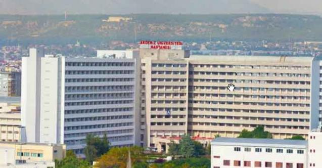 Akdeniz Üniversitesi 88 adet sözleşmeli sağlık personeli alımı yapacak
