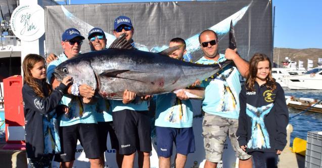 Alaçatı BigFish'de ilk günün galibi Shamu