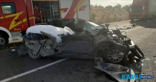 Ankara Çevre Yolu'nun İncek mevkisinde trafik kazası! 3 ölü, 3 yaralı