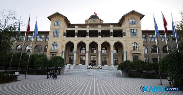 Ankara Hacı Bayram Veli Üniversitesi 84 Sözleşmeli Personel alacak