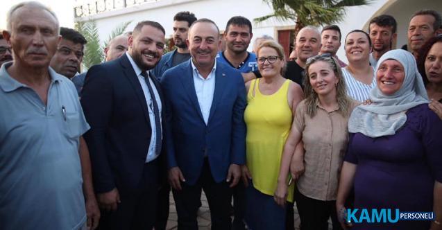 Dışişleri Bakanı Mevlüt Çavuşoğlu Kuzey Kıbrıs Türk Cumhuriyeti'ni ziyaret diyor