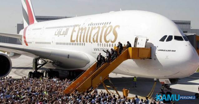 Emirates Havayolları yüksek maaşla kabin memuru personel alımı yapacak! Ön başvurular alınmaya başladı!