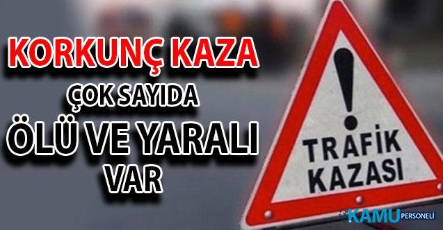 Hatay Reyhanlı'da Trafik Kazası: Korkunç Kazada Çok Sayıda Ölü ve Yaralılar Var