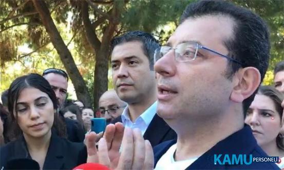 İBB Başkanı Ekrem İmamoğlu'ndan Büyükşehir'e Personel Alımları ve Torpil Açıklaması