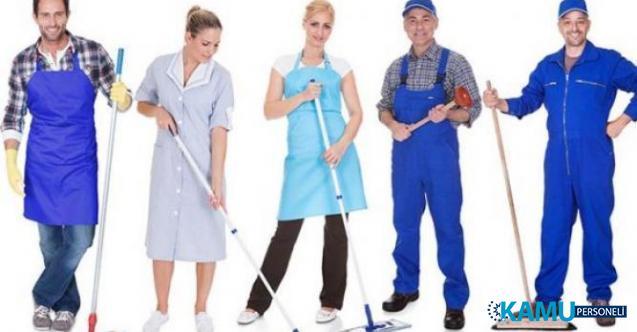 İŞKUR aracılığı ile 1.686 Temizlik personeli alımı yapılacak! Temizlik personeli alan kamu kurumları iş ilanları!