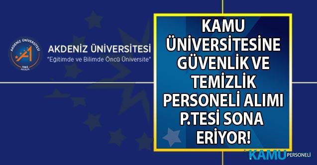 İŞKUR ile Kamuya KPSS'siz en az ilköğretim mezunu 65 güvenlik ve temizlik personeli alımı başvuruları 23 Eylül'de sona eriyor