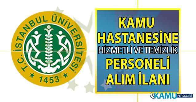 İŞKUR tarafından araştırma hastanesine, en az ilköğretim mezunu hizmetli ve temizlik personeli alımı yapılacak!