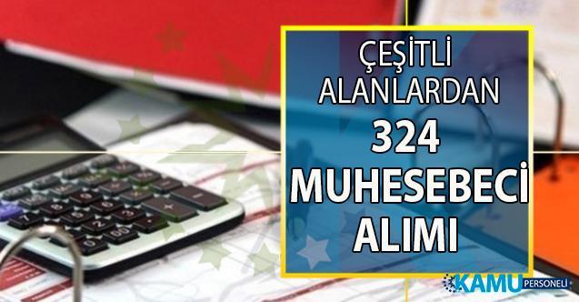 İŞKUR tarafından çeşitli alanlardan 324 Muhasebeci alımı yapılacak!