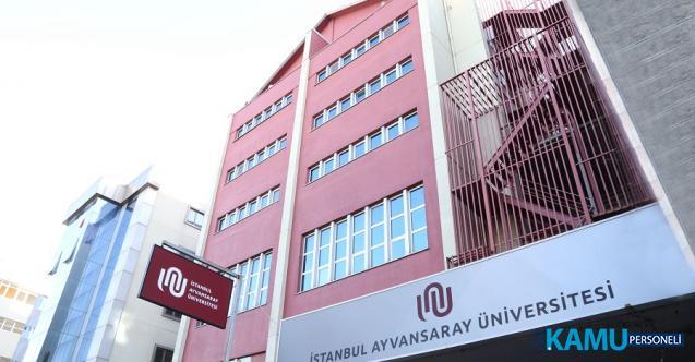 İstanbul Ayvansaray Üniversitesi 3 Araştırma ve 9 Öğretim Görevlisi alacak