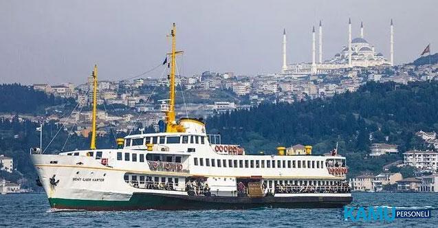 İstanbul'da 24 saat kesintisiz vapur seferleri