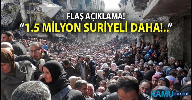 İYİ Partili Lütfü Türkkan: 'Bir Buçuk Milyon Yeni Suriyeli daha Türkiye'ye Göç Edecek'