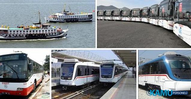 İzmir'de fuar boyunca ulaşımda ek sefer yapılacak