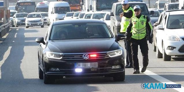 Kamuda çakara son! Üst Düzey Yöneticiler, Genel Müdür, Daire Başkanı kullanımındaki araçlarda çakar yasağı