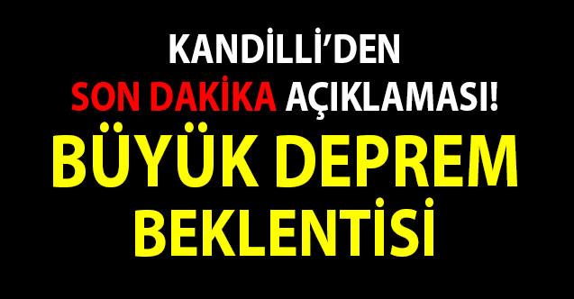 Kandilli'den Son Dakika Açıklaması! İstanbul'da büyük deprem beklentisi 7 şiddetinin üzerinde olacak