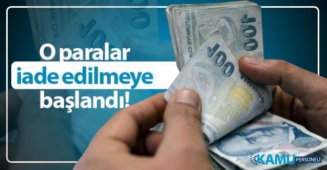Kıdem tazminatı vergi kesintileri ödenmeye başlandı! Vergi dairesi duyurdu!