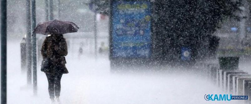 Meteoroloji İstanbul ve Çok Sayıda İli Saat Vererek Uyardı !
