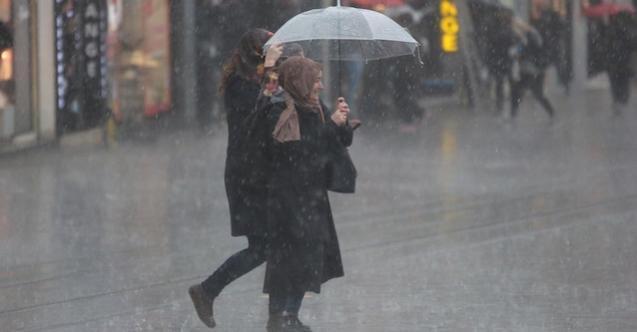 Meteoroloji'den o illerde yaşayanlara son dakika uyarısı! Yağış geliyor!
