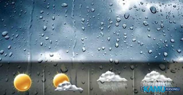 Meteorolojiden 15 Eylül 2019 yağmur ve sağanak uyarısı