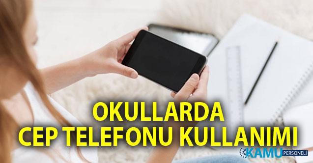 Öğrencilerin Derste ve Okulda Cep Telefonu Kullanımı Yasak mı, Serbest mi? MEB'den yeni düzenleme