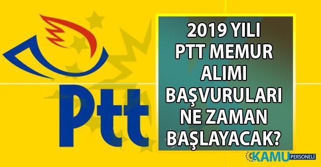 PTT 2019 yılı personel alımı başvuru tarihi belli oldu mu? Başvuru şartları nelerdir?
