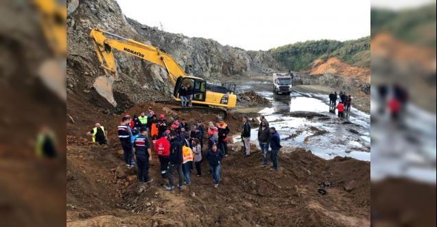 Rize'de deniz dolgusuna yapılan havalimanı inşaatında heyelan: 1 işçi hayatını kaybetti
