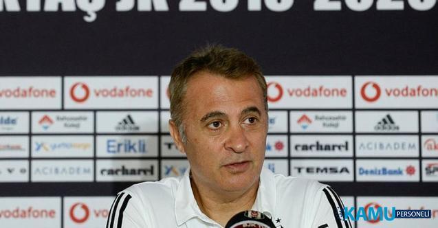 Son dakika Beşiktaş'ta istifa depremi! Beşiktaş Başkanı Fikret Orman istifa ettiğini açıkladı