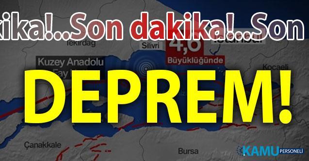 Son dakika bir deprem sarsıntısı daha!.. İstanbul'un ardından bir deprem de Ege'de meydana geldi