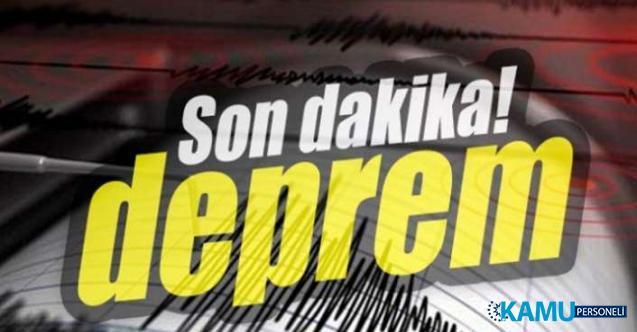 Son dakika deprem haberi! Antalya'da korkutan deprem