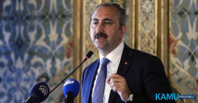 Sözleşmeli Personellerin Kadroya Geçmesi Hakkında Adalet Bakanı Gül'den Açıklama